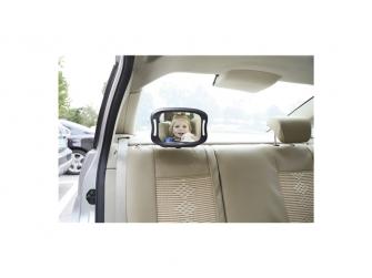 Nastavitelné zpětné zrcadlo do auta s LED osvětlením 6