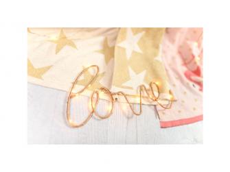 Pletená deka - zlaté hvězdy 4