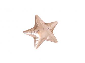 Měkký polštářek - zlatá hvězda