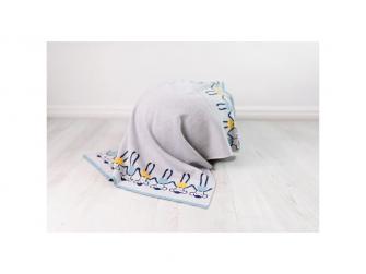 Pletená deka - opičky