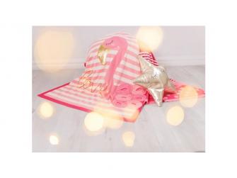 Pletená deka - plameňáci