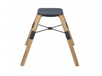 Jídelní židlička CAROU 360° Grey 15