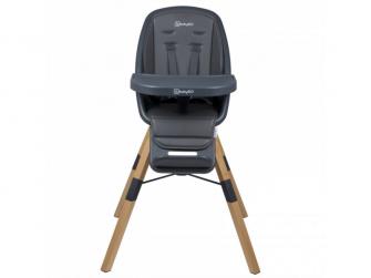 Jídelní židlička CAROU 360° Grey 4