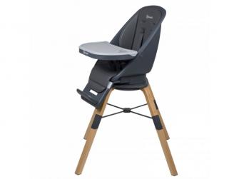 Jídelní židlička CAROU 360° Grey 7