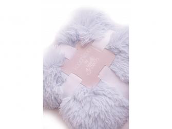 Luxusní deka - modrá 2