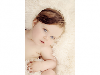 Luxusní deka - krémová 6