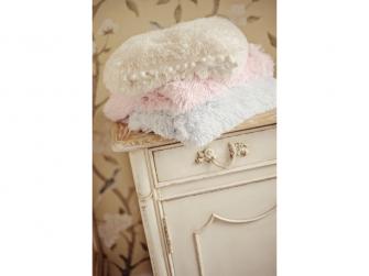 Luxusní deka - krémová 7
