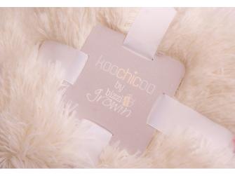 Luxusní deka - krémová 2