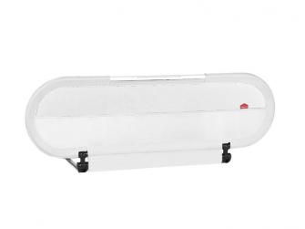 Zábrana na postel s LED světlem Side Light White