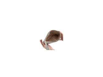BHODIE ICE GREY - malá kožená taška na ruku 2