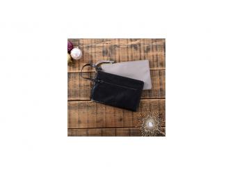 BHODIE ICE GREY - malá kožená taška na ruku 3