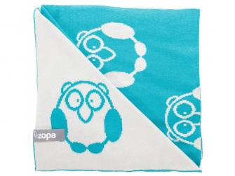 Dětská deka Little Owl, Mint