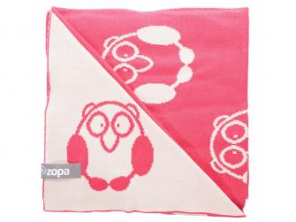 Dětská deka Little Owl, Redwine