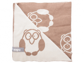 Dětská deka Little Owl, Savana