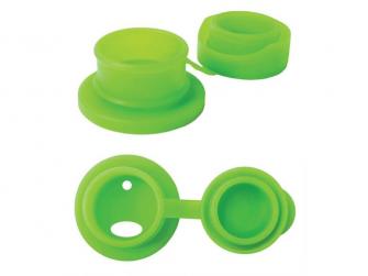 Big Mouth silikonový sportovní uzávěr - zelená