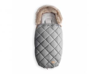 Fusak s kožešinou 110cm (5-36m) / L, light grey