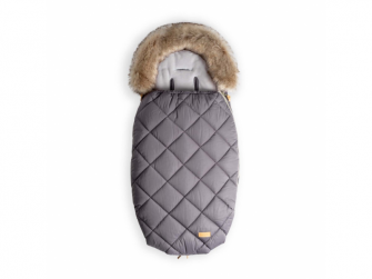 Fusak s kožešinou 100cm (5-24m) M, grey