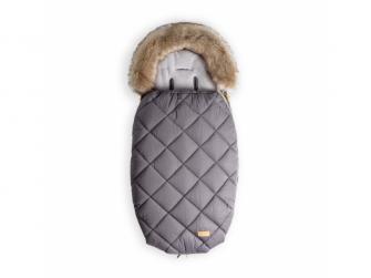 Fusak s kožešinou 110cm (5-36m) L, grey