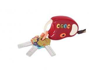 Klíčky k autu FunKeys červené 2