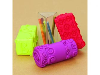 Textilní kostky ABC Block Party 4