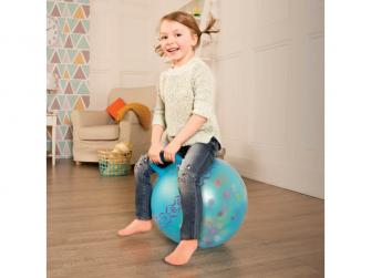 Skákací míč Hop n' Glow modrý 3