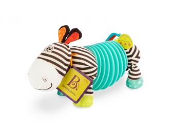 Tahací harmonika zebra Squeezy Zeeby 2