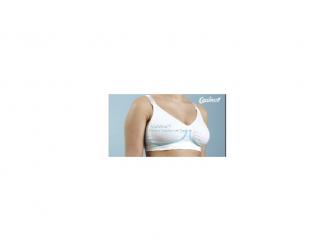 Podprsenka ke kojení s gelovou kosticí bílá XL 9