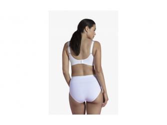 Podprsenka ke kojení push up s gelovou kosticí bílá XL 3
