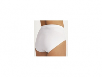 Kalhotky po porodu stahovací bílé XL 2