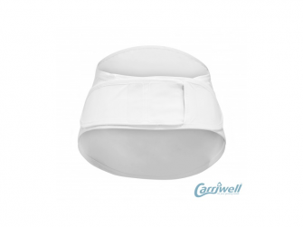 Těhotenský podpůrný pás přes bříško - nastavitelný - bílý L/XL 4