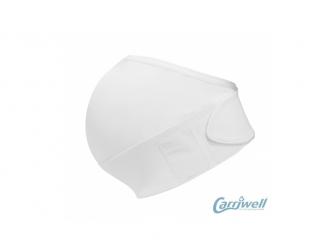Těhotenský podpůrný pás přes bříško - nastavitelný - bílý L/XL 3