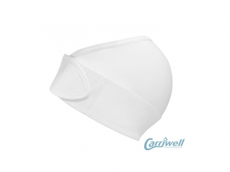 Těhotenský podpůrný pás přes bříško - nastavitelný - bílý L/XL 5