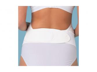 Těhotenský podpůrný pás přes bříško - nastavitelný - bílý L/XL 6