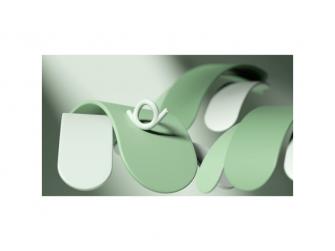 Silikonové kousátko Šnek, zelený 4