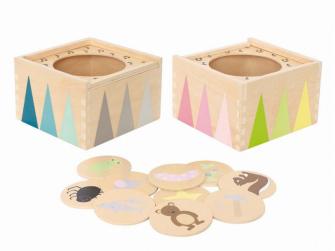 Dřevěný hudební box