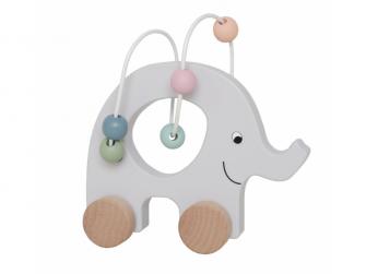 Slon s kuličkovou dráhou