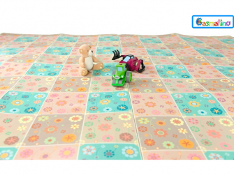 Dětská podložka tenká Bloom Floor 2