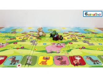Dětská skládací podložka Piggy 13