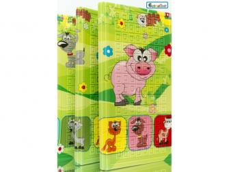 Dětská skládací podložka Piggy 6