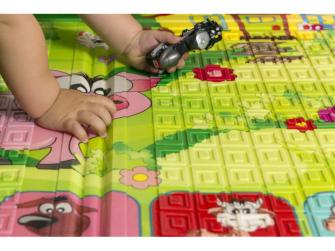 Dětská skládací podložka Piggy 11