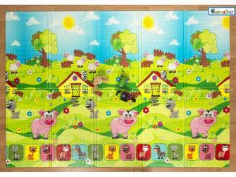 Dětská skládací podložka Piggy