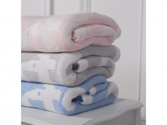 Žinylková deka růžová 5