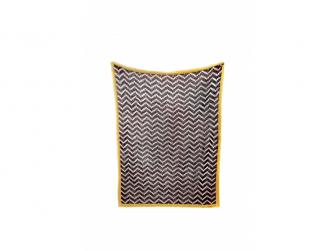 Pletená deka Chevrons