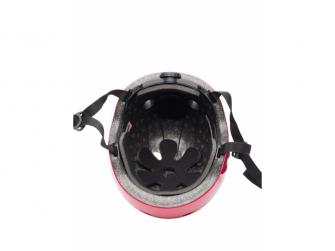 Dětský helma ČERVENÁ- GOOGLE, velikost M 2