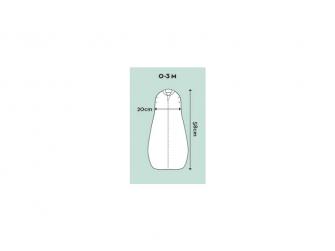 Zavinovačka AirCocoon 0,2tog - Natural 0-3m 3
