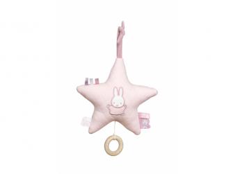 Plyšová hrající hvězda zajíček PINK