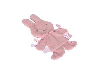 Šustící muchlák pink babyrib