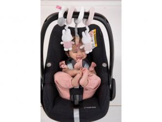Spirála miffy pink babyrib 3