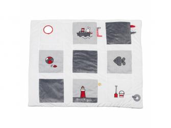 Hrací deka bez hrazdičky Miffy Fun at sea
