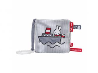 Plyšová knížka Miffy Fun at sea